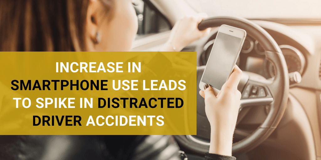 Increase in Smartphone Use Leads to Spike in Distracted
