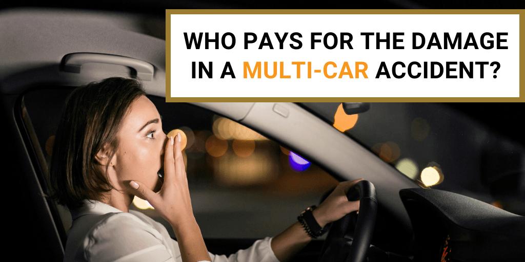 multi-car accident