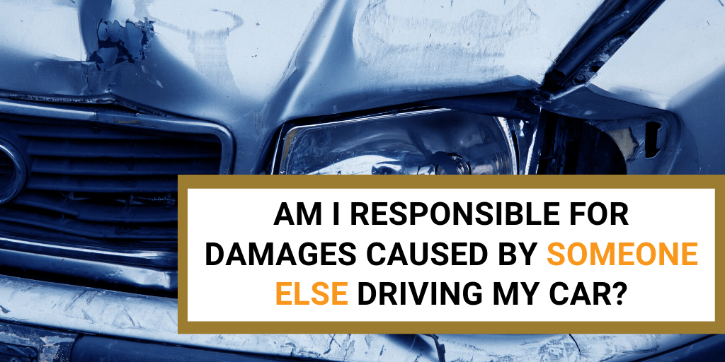 accident damages caused by someone else